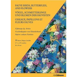 Fauve Birds, Butterflies, And Flowers