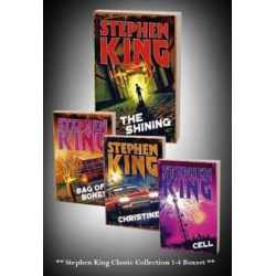 Stephen King Classic Collection Box Set 4 Books