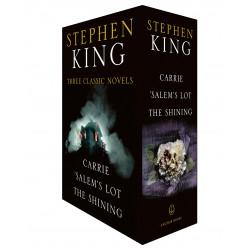 Three Classic Novels Box Set: Carrie, 'Salem's Lot, The Shining