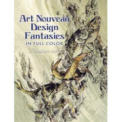 Art nouveau design fantasies in full color (Уценка)