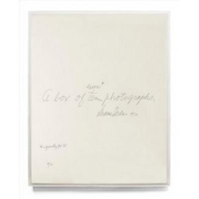Diane Arbus: a Box of Ten Photographs