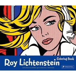 Roy Lichtenstein (Coloring Book Series)