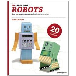Robots 3D Paper Craft