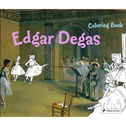 Edgar Degas (Coloring Book) (Уценка)