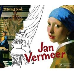 Jan Vermeer (Coloring Book)