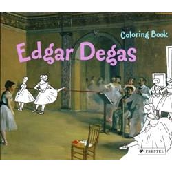 Edgar Degas (Coloring Book)