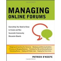 Managing Online Forums