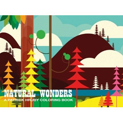 Patrick Hruby: Natural Wonders Coloring Book