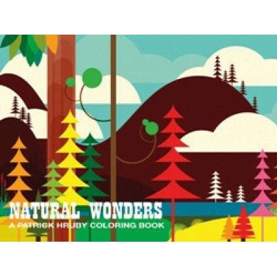 Patrick Hruby: Natural Wonders Coloring Book