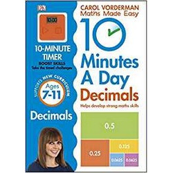 10 Minutes a Day Decimals + 10 Minute timer
