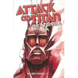 Attack on Titan: The Beginning Box Set (Vol.s 1-4)