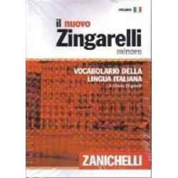 Il nuovo Zingarelli Minore. Vocabolario della lingua italiana 65 000 voci 2000 vici nuove, 5200 disegni (hardcover)