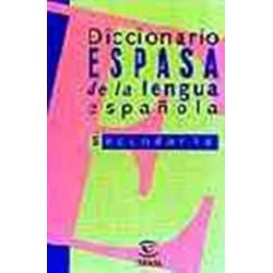 Diccionario Espasa de la lengua espanola Secundaria y Bachillerato 30 000 palabras
