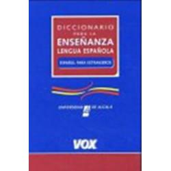 Diccionario para la Ensenanza de la Lengua Espanola 22 000 entradas
