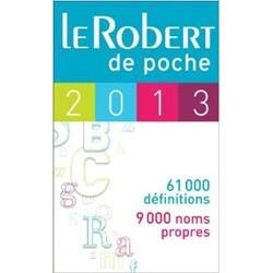 Dictionnaire Le Robert de poche 2013