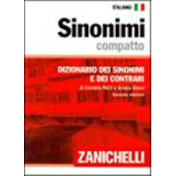 Sinonimi compatto. Dizionario dei sinonimi e dei contrari. 138 000 sinonimi 37 000 contrari