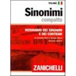 Sinonimi compatto. Dizionario dei sinonimi e dei contrari. 138 000 sinonimi 37 000 contrari (Уценка)