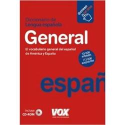 Diccionario general de la lengua espanola 53 000 entradas y 112 000 acepcions + CD