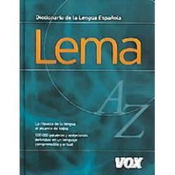 Diccionario Lema de la Lengua Espanola 47 500 entradas
