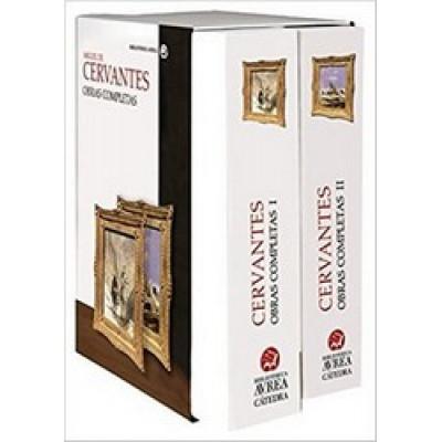Estuche Obras Completas Cervantes Volumen I y II