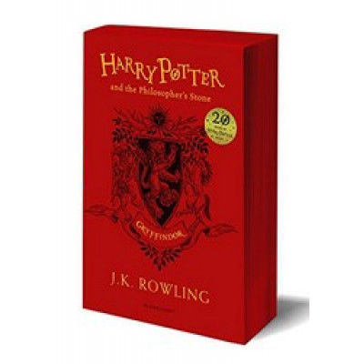 Harry Potter and the Philosopher's Stone - Gryffindor Ed. PB
