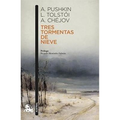 TRES TORMENTAS DE NIEVE