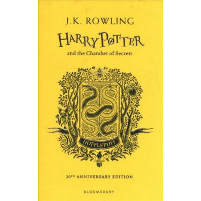 Harry Potter and the Chamber of Secrets HC Hufflepuff Ed.