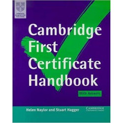 Camb First Cert Handbook with Answers