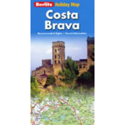 Costa Brava Holiday Map