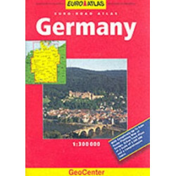 Germany geocenter. . Euro Road Atlas