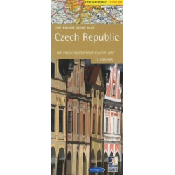 Rough Guide Map Czech Republic