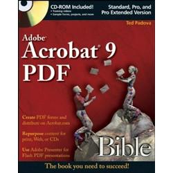 Adobe® Acrobat® 9 PDF Bible +CD