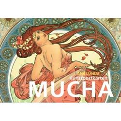 Alfons Mucha Postkartenbuch