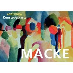 August Macke Postkartenbuch