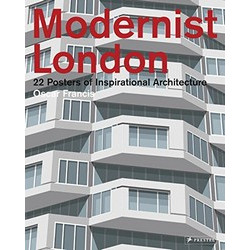 Modernist London: 22 Posters of Inspirational Architecture (Уценка)