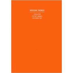 Medium Things Notebook, Orange (Уценка)