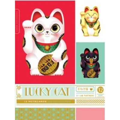 Lucky Cat Notecards